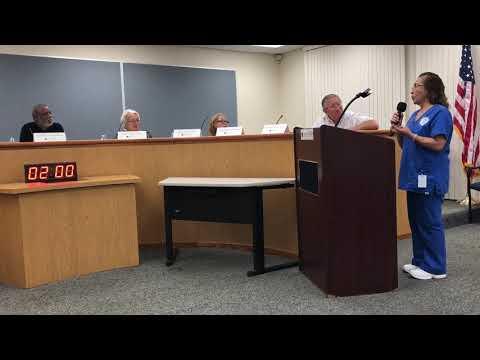 Highlands Community Charter School: Board Meeting Student Speech Beatrice Martinez