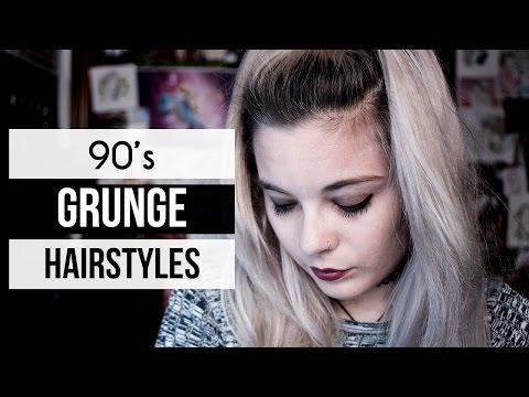 10 GRUNGE HAIRSTYLES | 90s