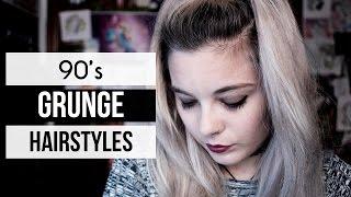 10 GRUNGE HAIRSTYLES | 90