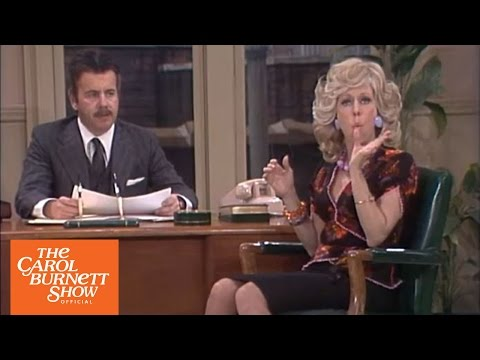 Mrs. Wiggins: The Intercom… Again from The Carol Burnett  full sketch