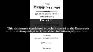 Dattatreya Upanishad Top # 5 Facts