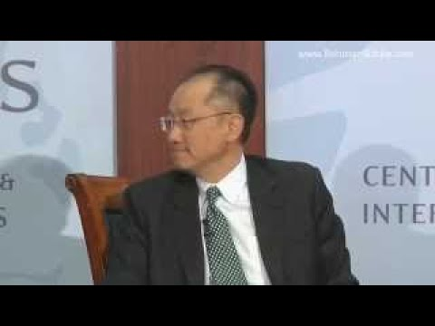 World Bank President Jim Yong Kim on Eradicating Poverty