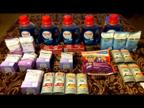 CVS HAUL.. all for only $7.16 oop ....Pond's, Persil, & Right Guard crazy