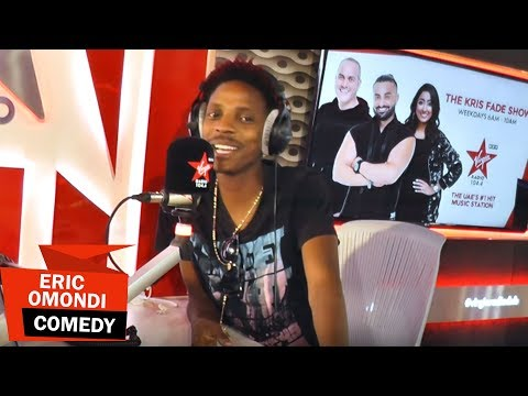 Eric Omondi Live Radio Interview DUBAI - Virgin Radio, The Kris Fade Show