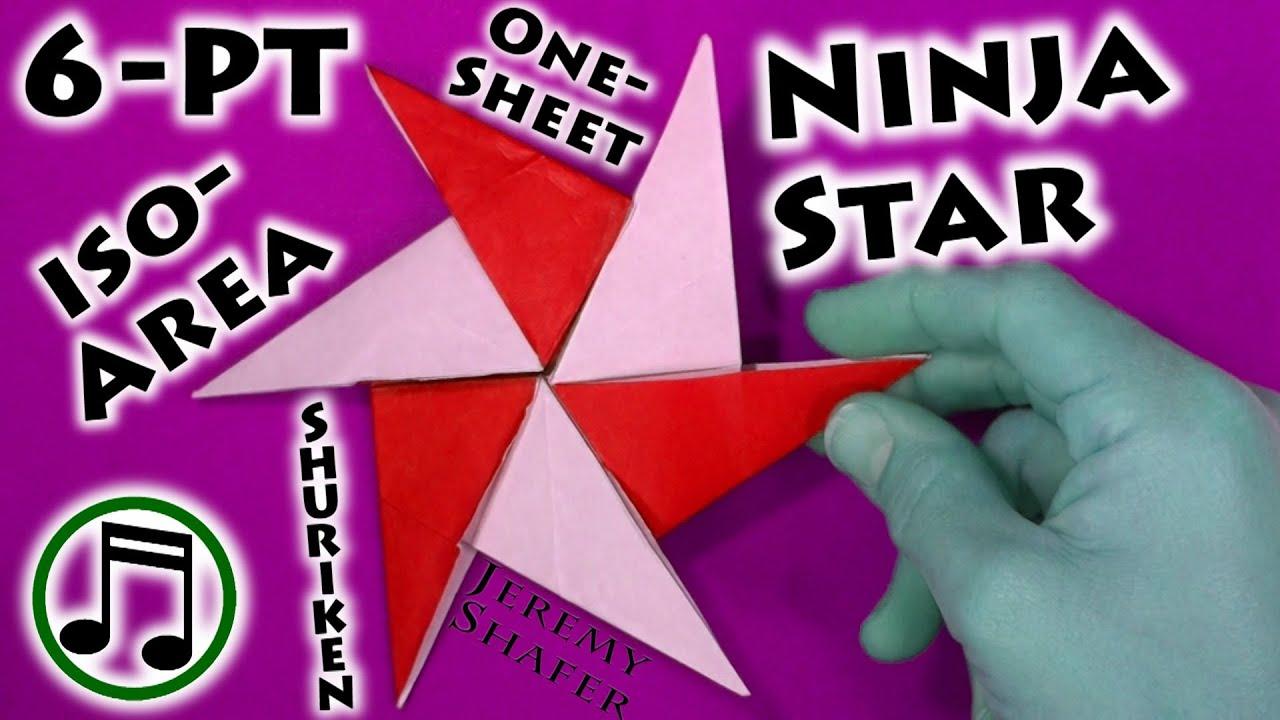Six Pointed Iso Area Ninja Star