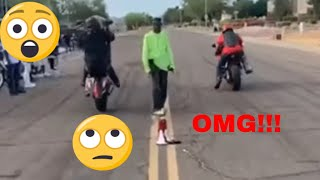 Crazy Motorcycle Accident!!