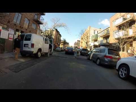Driving by the orthodox neighborhood of Brooklyn,NY