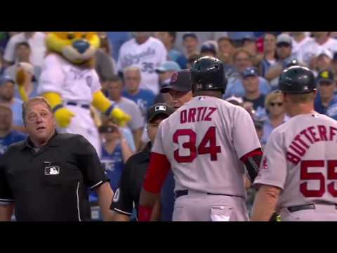 Every David Ortiz Ejection