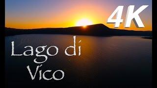 InFlight History 4K - Lago di Vico 4K (Viterbo) Drone 4K View
