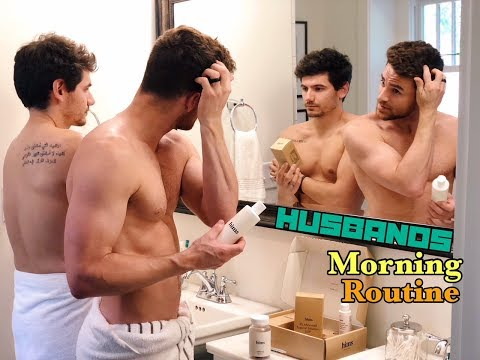 HUSBANDS MORNING ROUTINE & HEALTH TIPS | PJ & THOMAS