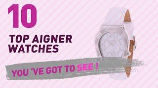видео Aigner - каталог часов