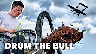 Drum the Bull Celebrates the Return of Formula 1 I Austrian Grand Prix