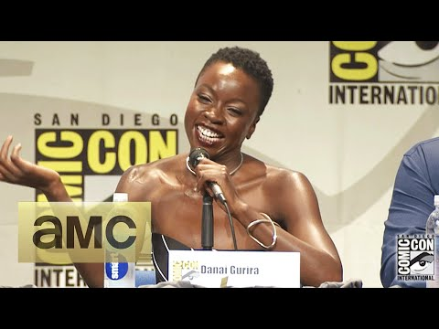 Danai Gurira Punched Andrew Lincoln for Real: ComicCon Panel Highlights: The Walking Dead: Season 6
