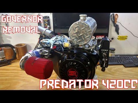 Go Kart 420cc Predator Governor Removal & Performance Mods