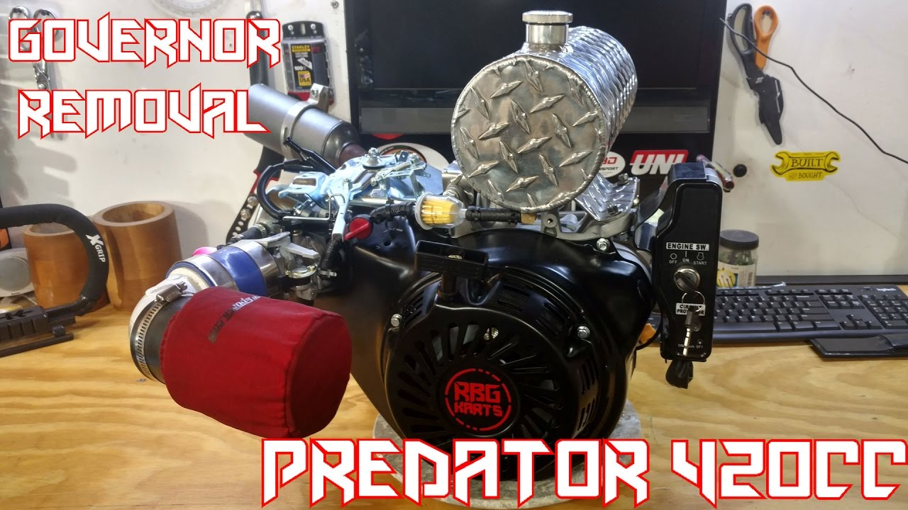 Go Kart 420cc Predator Governor Removal & Performance Mods