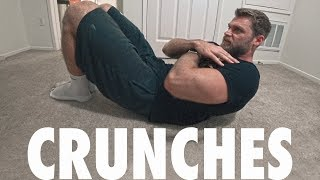 How to Perform Crunches | Bodyweight Abs Exercise