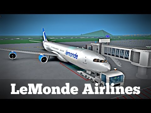 ROBLOX | LeMonde Airlines A340 Flight #1
