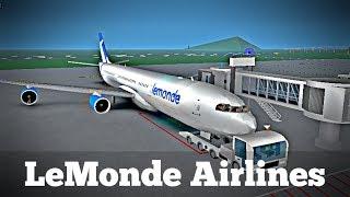 ROBLOX | Volo di LeMonde Airlines A340 #1