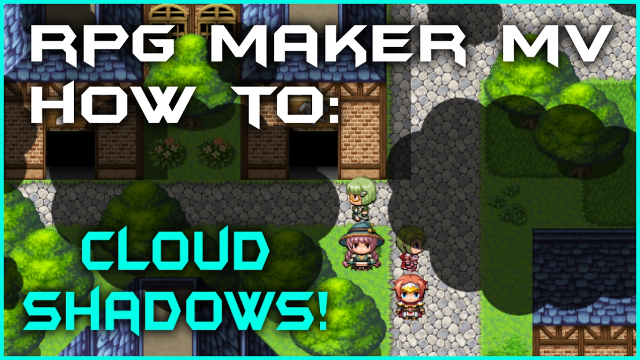 RPG Maker MV - How to create Cloud Shadows! by LunarcomplexRM