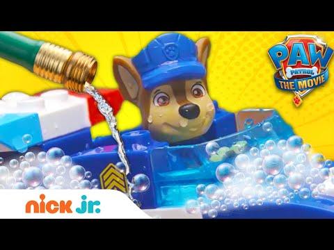 PAW Patrol Toys: Car Wash Surprise! | Nick Jr.