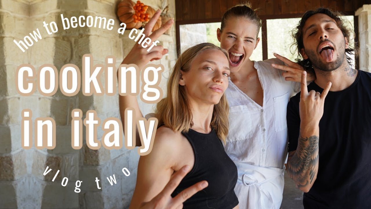 A Model Cooking In Italy Vlog... From the Runway to the Kitchen