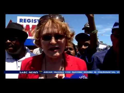 Helen Zille on registration drive