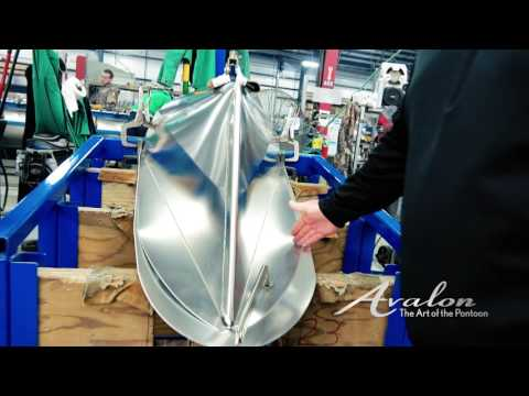 Constructing the Nose Cone | Pontoon Science #4 | Avalon Luxury Pontoon Boats