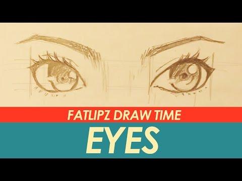 สอนวาดรูป Fatlipz Draw Time - วาดตา !!