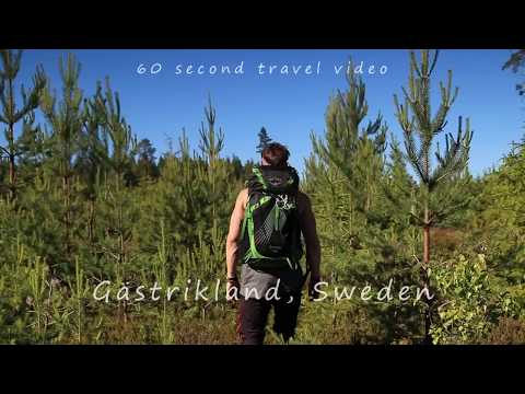60s travel video from Gästrikland, Sweden. Exploring the wilderness!