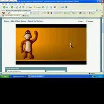 Spank the monkey fast