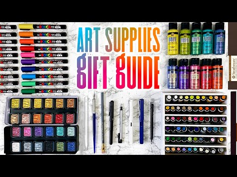 The BEST Gifts for Artists This Year   Art Supplies Gift Guide