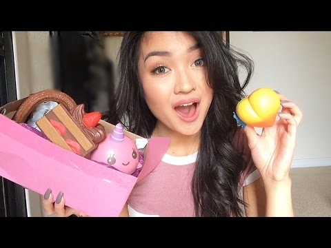 Squishy Purple Banana 25 : ? HUGE Squishy Haul! - YouTube