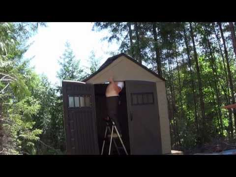 building-rubbermaid-shed-at-morning-wood