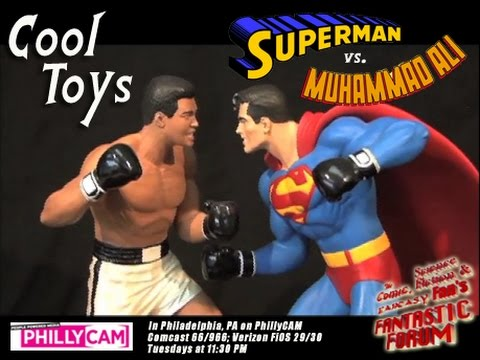 Fantastic Forum Cool Toys - Superman v. Muhammad Ali Statue