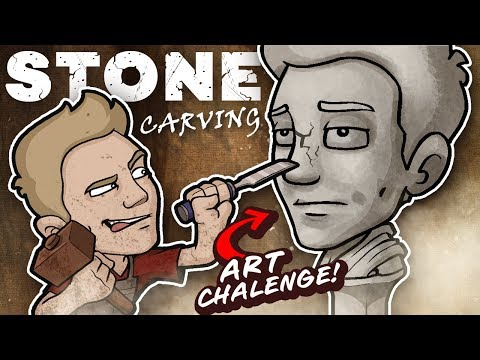 ⚒ STONE CARVING ⚒  - EPIC ART SCULPTURE CHALLENGE!