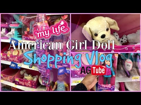 American Girl Doll Shopping Vlog! MyLifeAs By Walmart New Toys💙 Episode 3