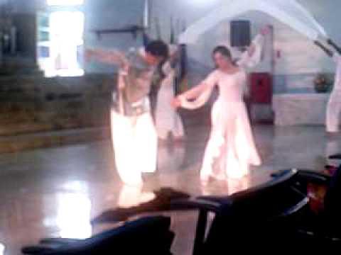 Dança do pano JESUS É O CAMINHO grupo de dança Ger...