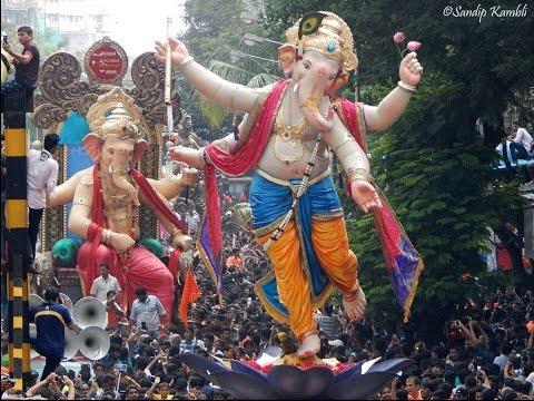 AAGMAN SOHALA 2015 : Chandanvadi & Malbar Hill Cha Raja