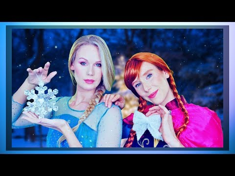 ASMR Frozen Role Play❄❄ Get Relaxed with Anna and Elsa ❄❄ (personal attention)