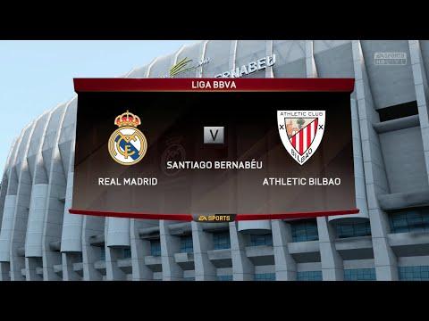 FIFA 16 - Real Madrid vs. Athletic de Bilbao @ Estadio Santiago Bernabéu