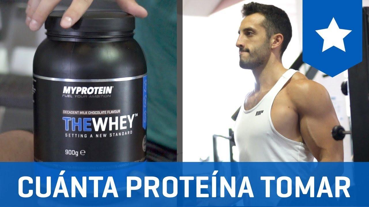 como saber cuanta cantidad de proteina tomar