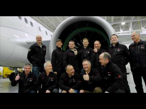 SWISS Pilots flying the C Series for the first time