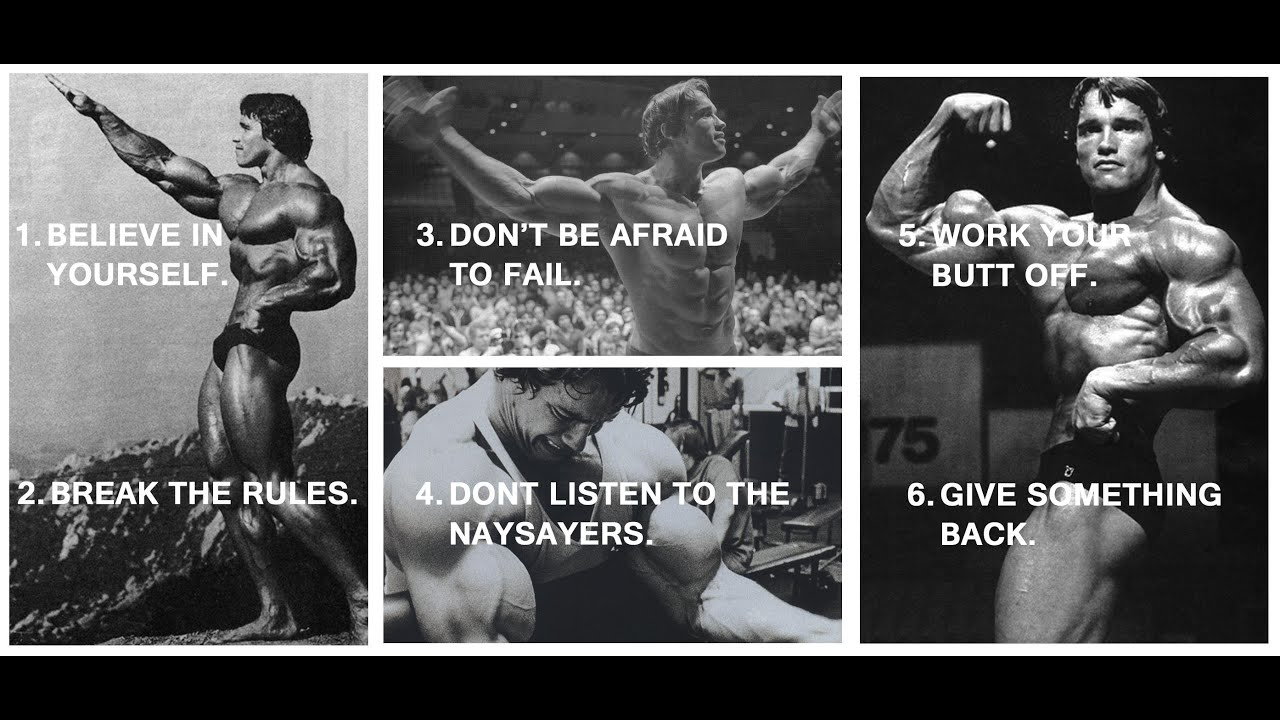 21 Rules Of Success: Arnold Schwarzenegger's 6 Rules For Success