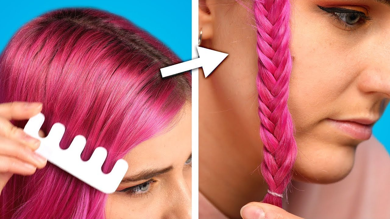 11 Awesome Hair Hacks and Hairstyle Ideas Every School Girl Should Try!