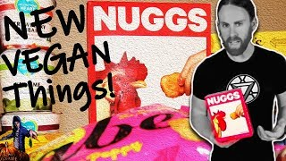 NUGGS New VEGAN Chicken Nuggets + More
