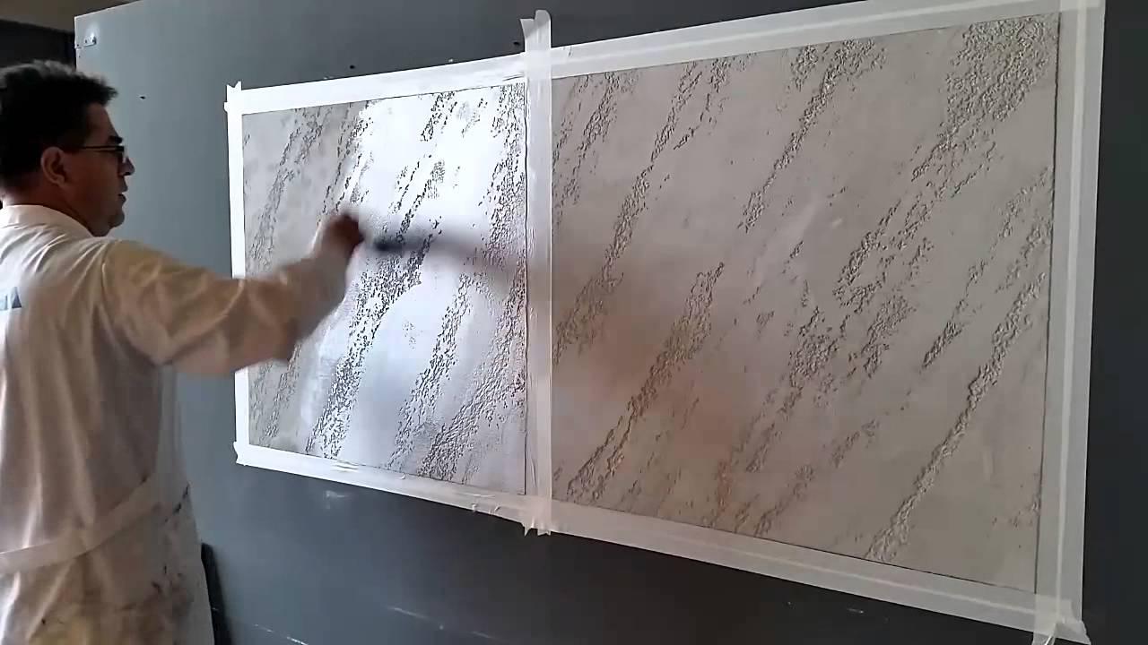 Imitaci n a piedra con cal youtube - Imitacion a piedra para paredes ...