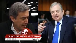 Entrevista de Tasso Jereissati ao Jornal da Manhã, da rádio Jovem Pan