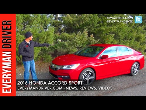 Here's the 2016 Honda Accord Sport on Everyman Driver