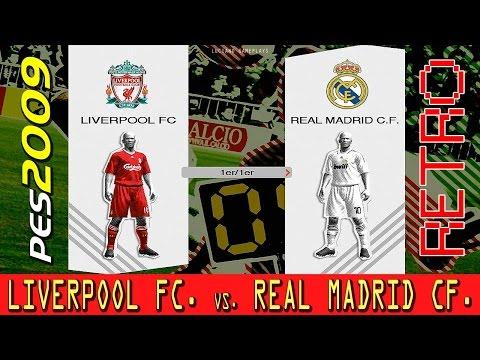 Retro PES 2009: Liverpool Vs. Real Madrid
