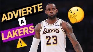 LEBRON James JAMÁS haría TRAMPAS ⚠️ TANKING Lakers y la advertencia del Rey a la NBA